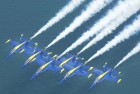Original Blue Angel Honored With Aerial Farewell